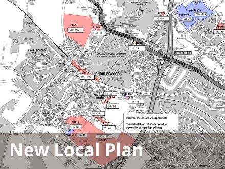 Click for TRDC New Local Plan