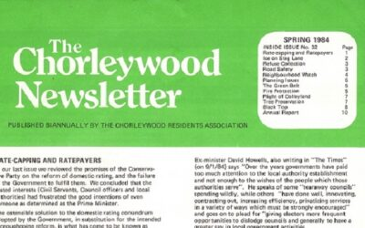 A glimpse of Chorleywood from 1984