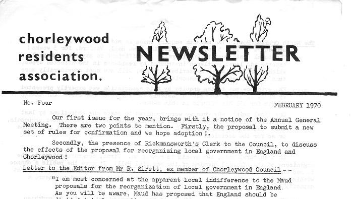 Spring 1970 Newsletter