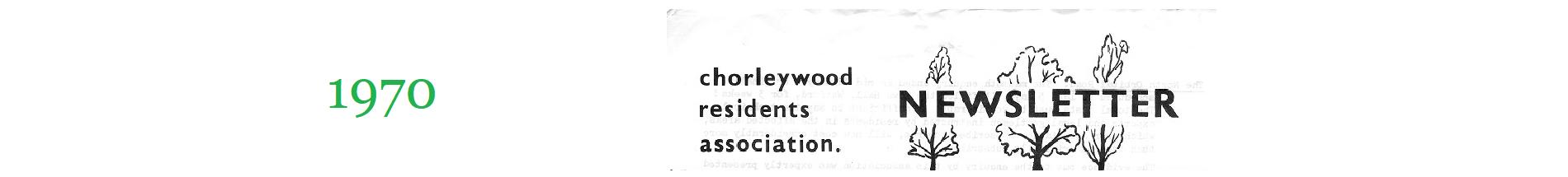 Chorleywood 1970