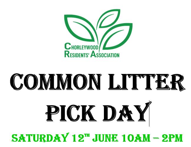 Chorleywood Common Litter Pick Day 12th June 2021