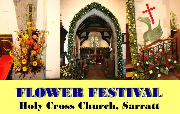 Flower Festival at Holy Cross Church Sarratt 25th-27th June