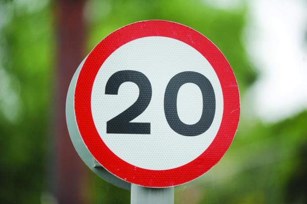Proposed 20mph area for Chorleywood