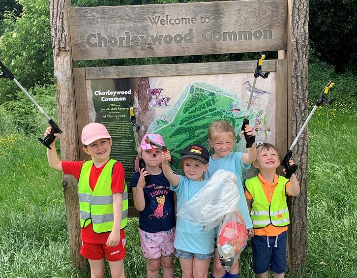 Chorleywood Common Litter Pick Day – 25th September